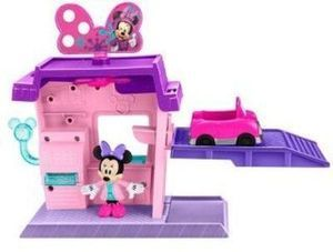 Fisher-Price Disney Minnie Mouse Motor Makeover Salon Playset