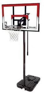 "Spalding NBA 44"" Polycarbonate Portable Basketball Hoop"