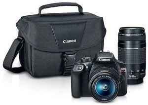 Canon EOS Rebel T6 DSLR Camera + $135 Kohls Cash