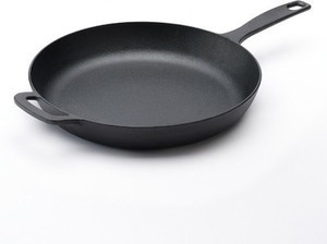 "Food Network Preseasoned Cast Iron 12"" Skillet"