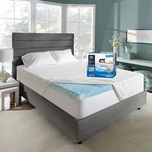 Twin Serta 3-in. Perfec Temp or 2-in. Soothing Cool Memory Foam Mattress Topper + $15 Kohl's Cash