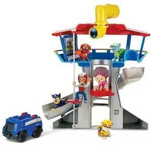 Paw Patrol Lookout Playset with 6 Pup Figures Paw Patrol Lookout Play Center