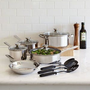 Cooks 12-Pc. Stainless Steel After Rebate