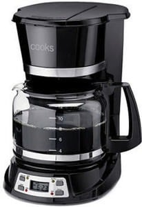 Cooks 12-Cup Programmable Coffee Maker After Rebate