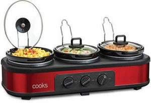 Cooks Triple Slow Cooker After Rebate