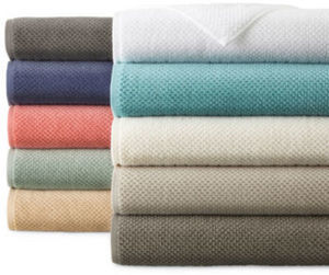 "JCPenney Home Quick-Dri 30x54"" Solid Bath Towel"