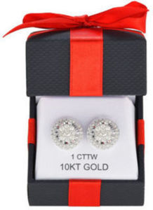 1ct TW Diamond Earrings