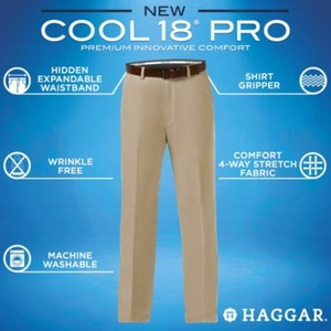 Haggar Men's Cool 18 Pro Pants