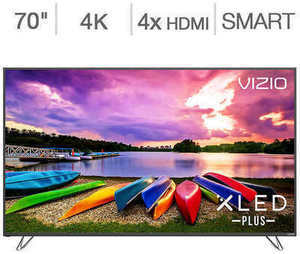 "Vizio 70"" 4K Ultra HD XLED Plus Home Theater Display"