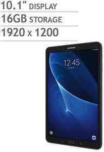 "Samsung Galaxy Tab A 10.1"" with 32GB MicroSD Card"