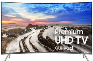 "Samsung UN65MU850D 65"" Premium Curved 4K UHD Smart LED TV"