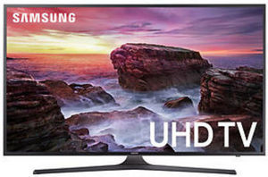 "Samsung UN65MU6290 65"" 4K UHD Smart TV + $50 BJs Gift Card"
