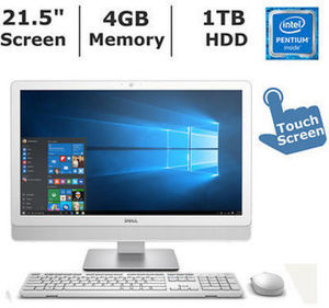 Dell Inspiron 22 3263 All-In-One Desktop with Intel Pentium 4405U Processor, 4GB RAM, 1TB HD