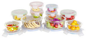 20-Pc. Glass Food Storage Set