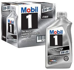 Mobil 1 Oil, 6pk/1qt