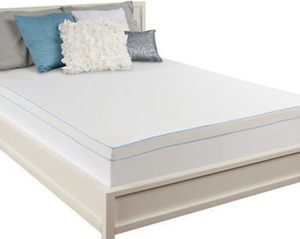 "Sealy Queen-Size 3"" Memory Foam Mattress Topper"