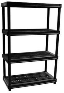 Organize-It 4-Tier 600-lb. Heavy-Duty Resin Shelves