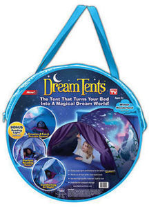 Dream Tent with Bonus Clip-On Light - Assorted
