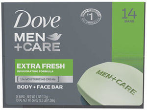 Dove Bar Soap or Body Wash