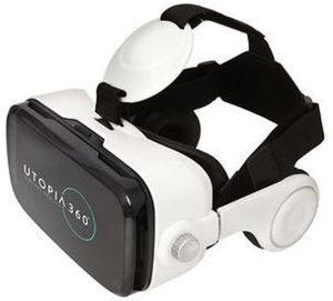 ReTrak Utopia 360-Degree Pro Virtual Reality Headset with Built-in Headphones
