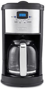 Bella 12-Cup Coffee Maker - Polished Stainless Steel