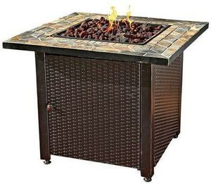 "30"" Outdoor Gas Firepit"