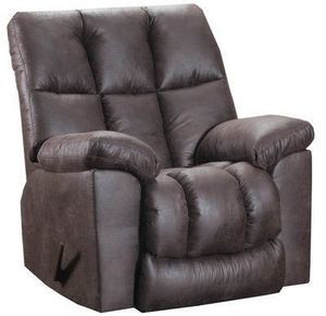 Simmons Big Mans Leather Like Rocker Recliner