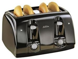 Sunbeam 4-Slice Toaster After Rebate