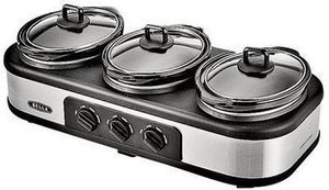 Bella Triple Slow Cooker After Rebate
