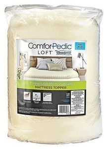 ComforPedic Loft from Beautyrest 3 Reversible Memory Foam Topper