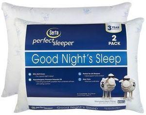 Serta 2 Pk Good Night's Sleep Pillow