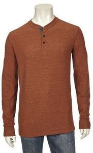Northcrest Men's Thermal Henleys