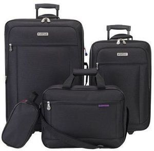 American Explorer 4 Piece Luggage Set