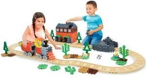 Little Tikes Waffle Blocks Steam Train Construction Set