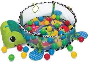 Infantino Turtle Ball Pit Gym