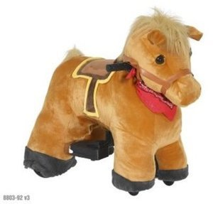 Plush Pony or Unicorn 6V Ride-On