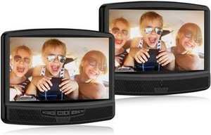 "RCA 10"" Dual Screen Mobile DVD Player"