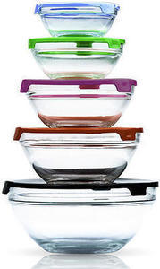 Imperial Home 10-pc. Glass Bowl Set