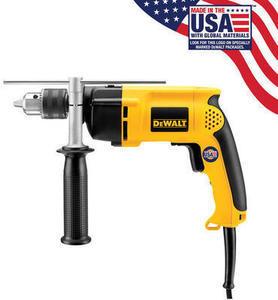 "DeWalt 7.8 amp Corded 1/2"" Hammer Drill"