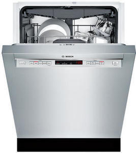 "Bosch SHEM63W55N 24"" 300 Series Built-In Dishwasher"