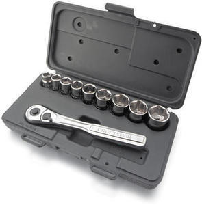 Craftsman 10 Pc. 3/8 In. Drive Standard Socket Wrench Set