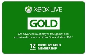 Xbox Live 12 Month Gold Membership $59.99 - Email Delivery