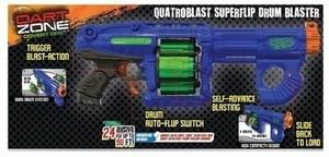 Dart Zone Quatroblast Super Flip Blaster