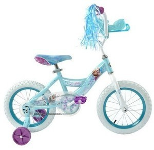 Huffy Disney Frozen Cruiser Bike with Sleigh