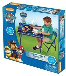 PAW Patrol Jr. Activity Table Set
