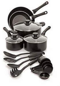 Cook's Tools 17-Piece Cookware Set