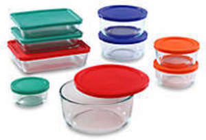 Pyrex 18-pc Storage Set