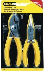 Stanley 6in Pliers Set