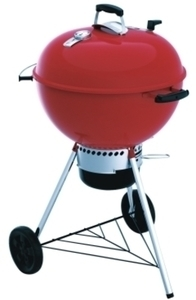Weber 22 in. Original Kettle Premium Grill Red