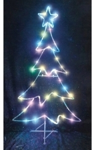 Celebrations LED Micro Dot Tree Christmas Decoration - Multicolored